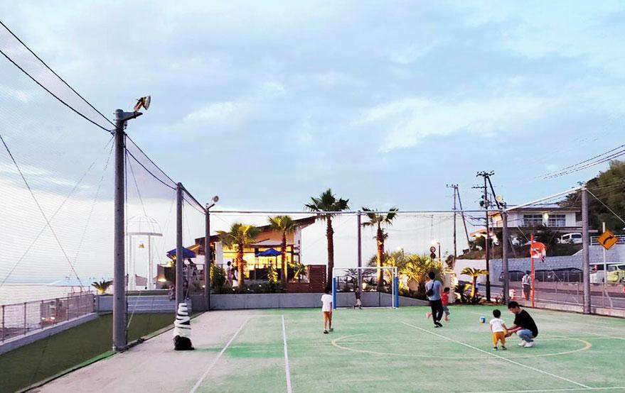 網球場,兒童廣場